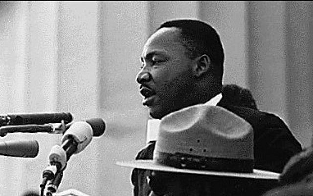 Martin Luther King, March on Washington (photo credit: US Government, WIkimedia Commons)