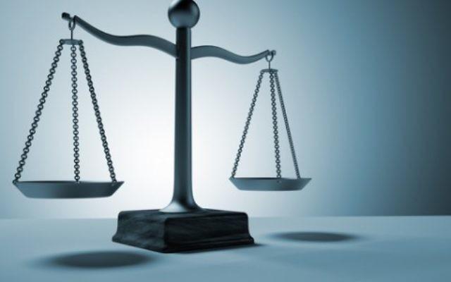 Illustrative. Scales of justice. (via Shutterstock)