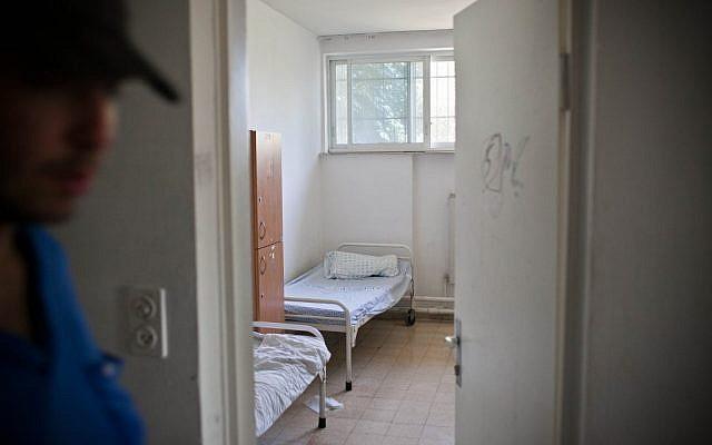 Illustrative photo of a psychiatric hospital. (photo credit: Noam Moskowitz/Flash90)