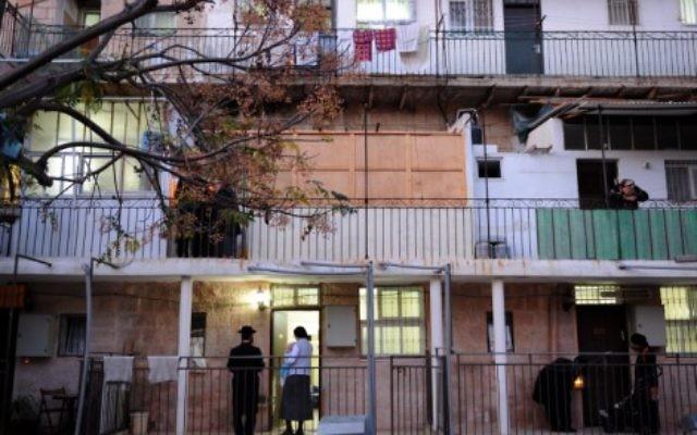 The Nachlaot neighborhood, Jerusalem (illustrative photo: Gili Yaari/Flash90)