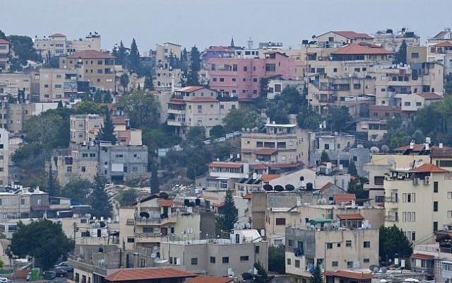 The northern Israeli city of Nazareth. (Moshe Shai/Flash90)