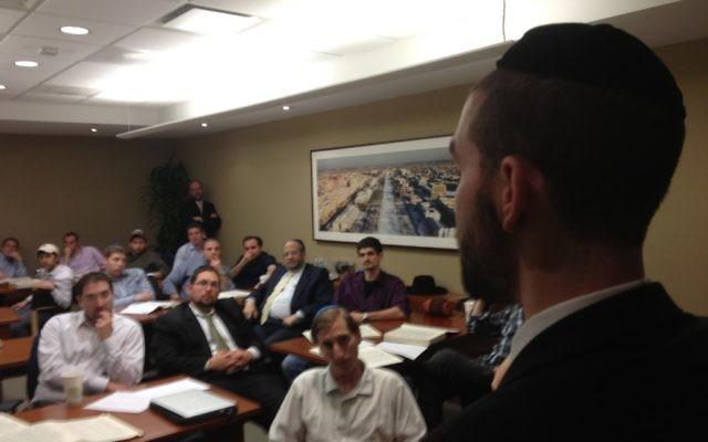 Rabbi Zakem of Home Beis Men's Talmud Study in Washington, D.C.