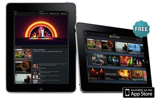 App for iPad (Photo credit: Courtesy)