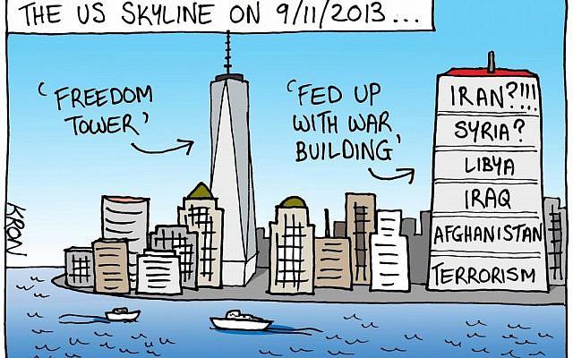 (Cartoon by John Kron, http://cartoonkronicles.com/)