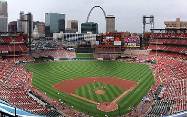 Busch Stadium, St. Louis, Missouri (photo credit: Kevin Ward/Wikimedia Commons)