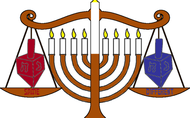 Same and Different: The Never-Ending Story of Chanukah