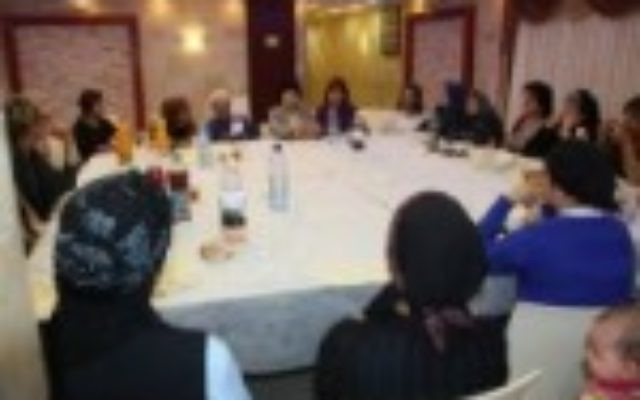 Arab and Jewish women from all denominations engage in dialogue