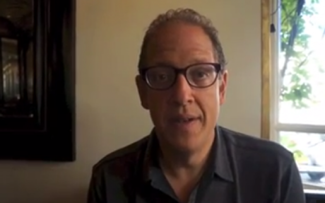 Jeff Pulver in Tel Aviv (screenshot: YouTube)