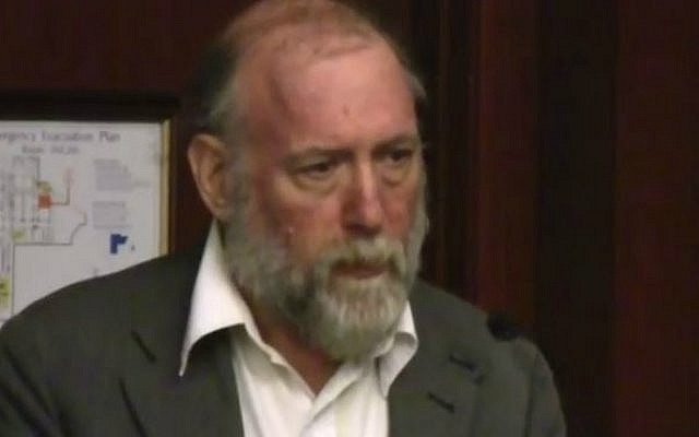 Barry Rubin at a Center for Security Policy's National Security Group event  on Capitol Hill on July 12, 2013. (screen capture: YouTube/securefreedom)