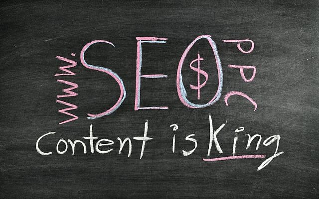 Content writing (Content writing image via Shutterstock)
