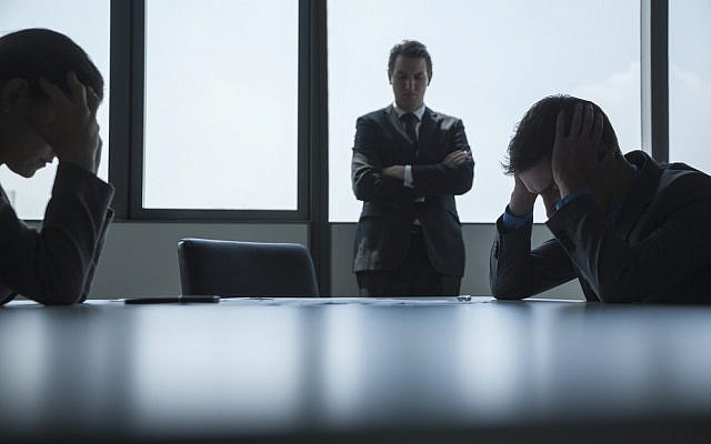Frustrated business people (Frustrated business people image via Shutterstock)