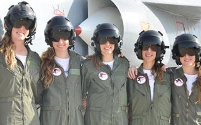 Female graduates of the IAF's 163rd flight school course (photo credit: IDF Flickr/CC BY-NC)