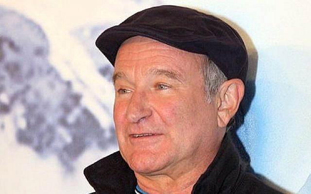 Robin Williams in 2011 (photo credit: Wikimedia Commons/ Eva Rinaldi CC BY-SA)