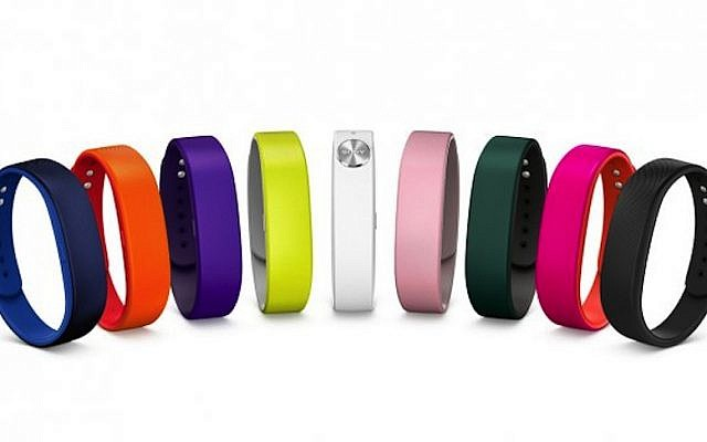 Sony's One SmartBand SWR10 bracelet (Photo credit: Courtesy)
