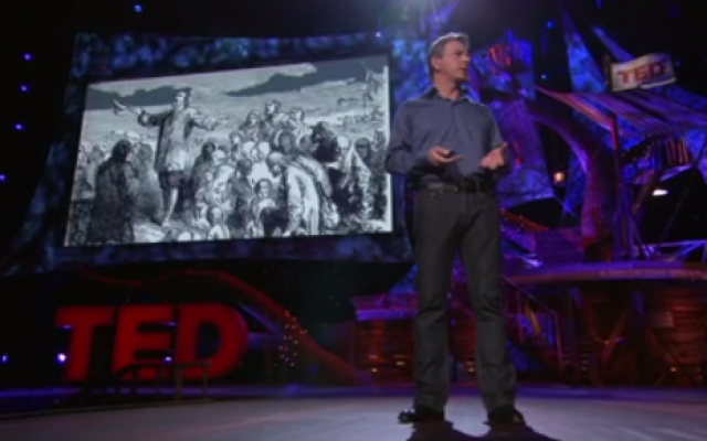 "Dan Pollotta, ""The way we think about charity is dead wrong"" TED talk (photo: Youtube screenshot)"