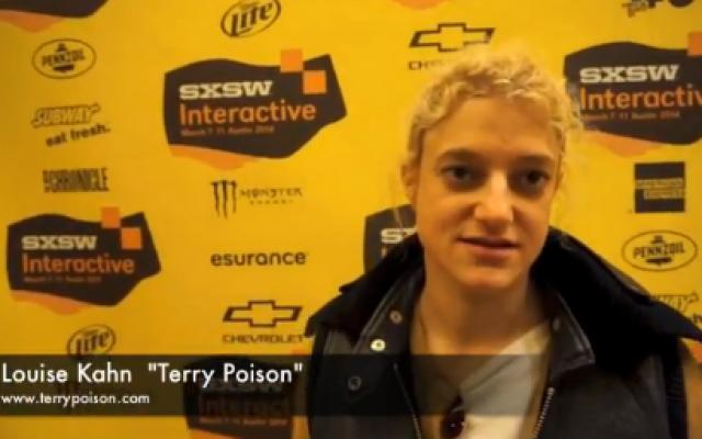 """Louise Kahn """"Terry Poison"""" (Youtube screenshot)"""