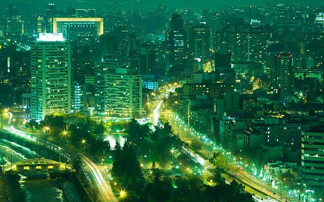 Santiago de Chile (Santiago de Chile image via Shutterstock)