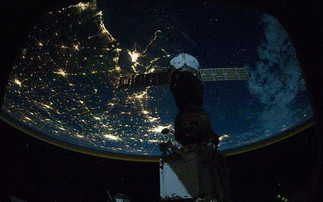 A space-based view of New Orleans and the southern Mississippi Delta area (Photo Credit: NASA)