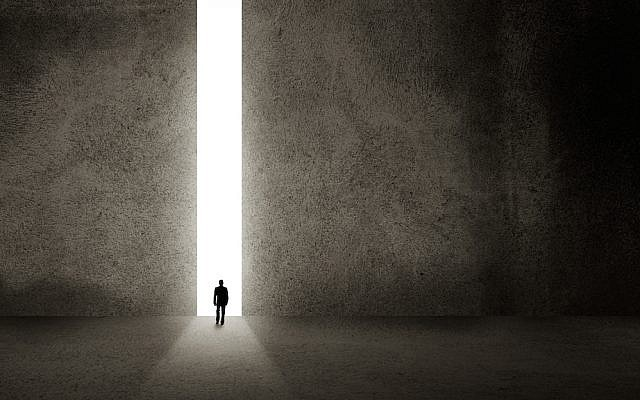 "A door of possibility ("" doorway image via Shutterstock)"