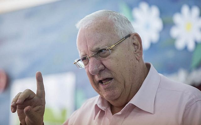 Reuven Rivlin (Photo: Flash 90 / Yonathan Sindel)
