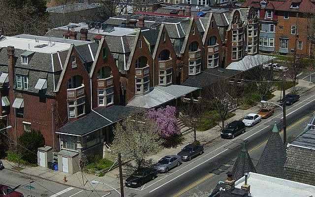 Houses in Philadelphia (photo credit: Wikimedia Commons, CC BY-SA 3.0/Axcordion)