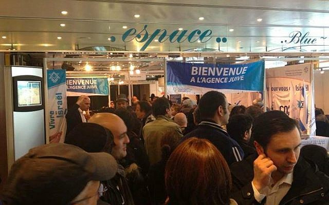 An aliyah fair in France. (photo credit: Jewish Agency)