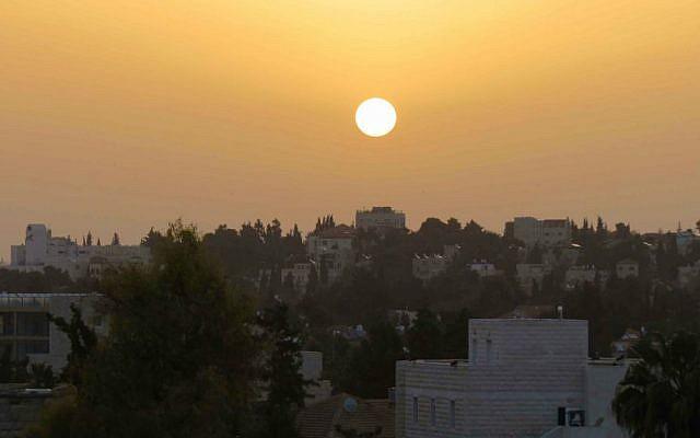 Sunrise over Jerusalem (Photo credit: Rahel Jaskow)