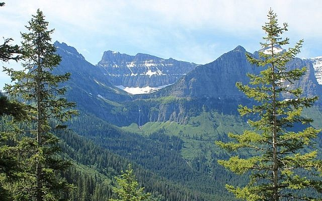 Illustrative: The remaining 25 or so glaciers in Glacier National Park may melt entirely within the next decade or two, scientists say. (Uriel Heilman/JTA)
