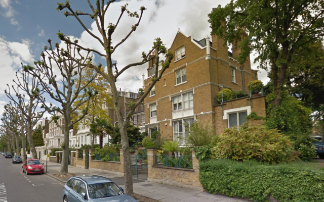 Illustrative image of homes on Hamilton Terrace in London's St. John's Wood from Google Street View