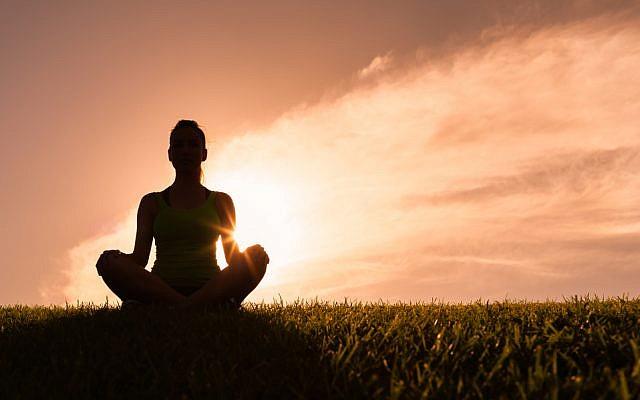 (meditation image via Shutterstock)