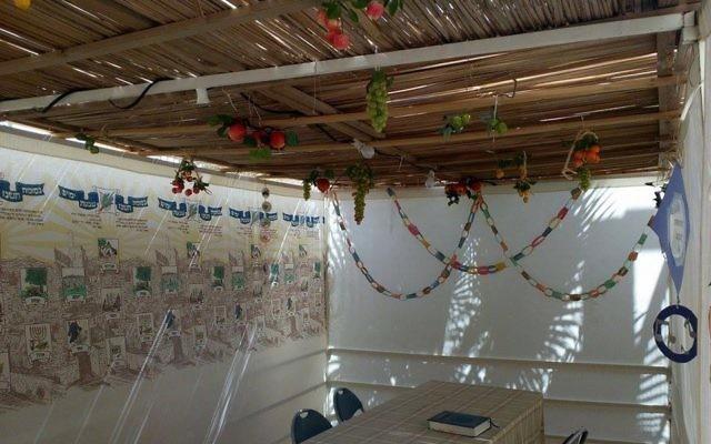 Ushpizin on our Sukkah wall (Aliza Lipkin)