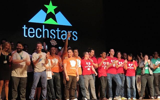 A Techstars Demo Day event for start-ups, September 17, 2015 (Courtesy)