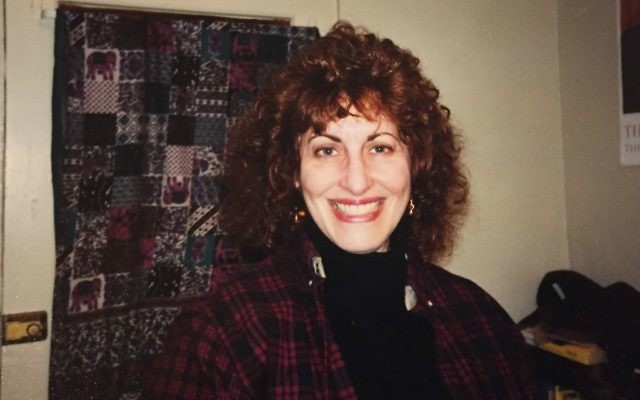 Mom in her very early 50s in a trip to my Bloomington, Indiana, apartment. (courtesy)