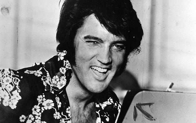 American singer and film star Elvis Presley, circa 1975 (Keystone/Getty Images)
