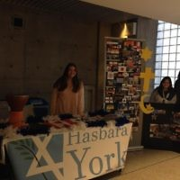 Tabling during the World Fair, demonstrating multiculturalism in Israel