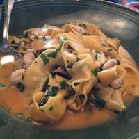 Sea Bass Pasta