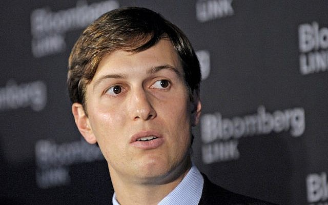 Jared Kushner speaking at the Bloomberg Commercial Real Estate conference in New York, Nov. 9, 2011. (Peter Foley/Bloomberg/Getty Images)