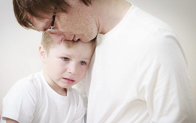 'Daddy, we should ask him to be nicer. What if I give him one of my toys!' (iStock photo)