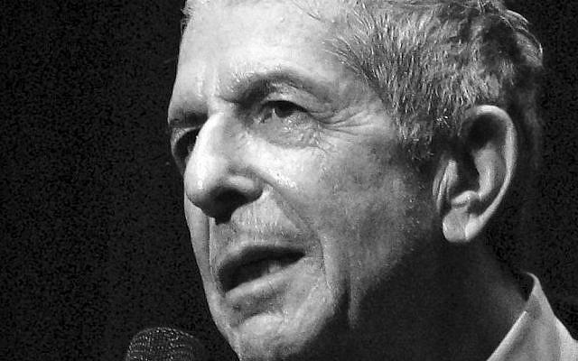 Leonard Cohen in 2008 (CC-BY-SA Rama, Wikimedia Commons)