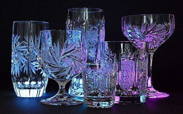 Crystal Illuminated Crystal Glasses Glass