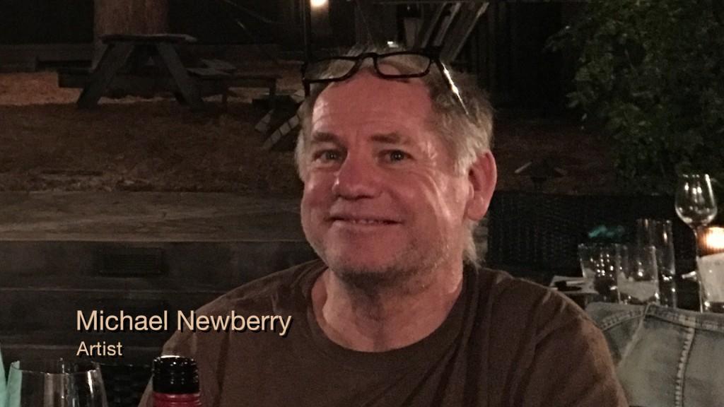 Michael Newberry, Painter.