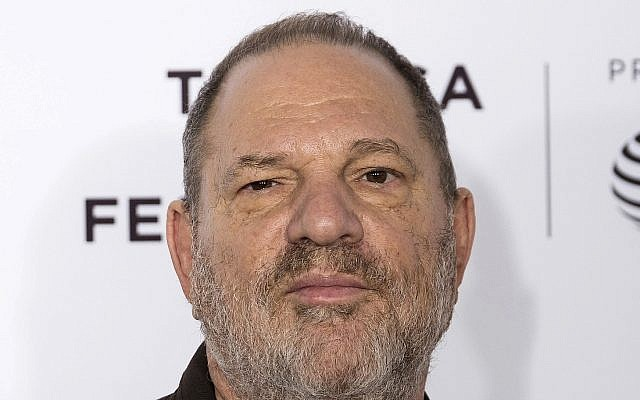 """Illustrative: Harvey Weinstein attends the """"Reservoir Dogs"""" 25th anniversary screening during the 2017 Tribeca Film Festival in New York, April 28, 2017. (Charles Sykes/Invision/ AP)"""