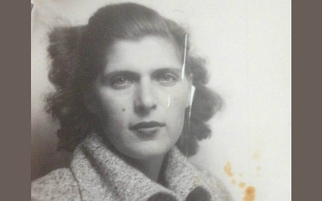 'The Jewess who refused to die' Family photo of the mother of blogger Stefan Shaul Lindmark (courtesy)