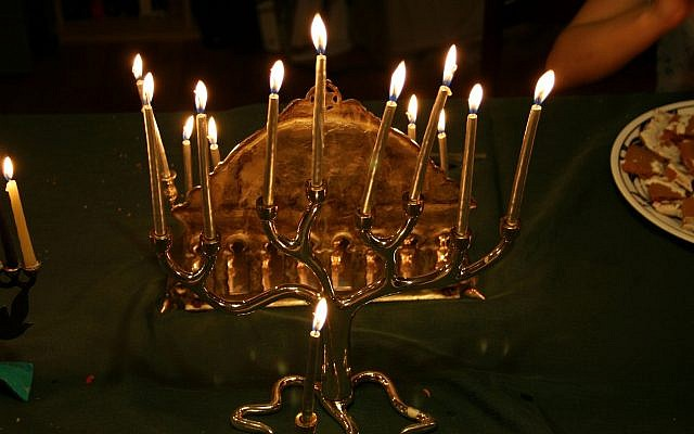 Illustrative: Hanukkah candles. (Flickr Commons)