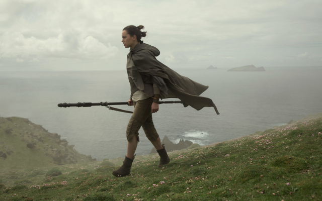 Rey in 'Star Wars: The Last Jedi.' (Screenshot/Courtesy Walt Disney/Lucasfilms)