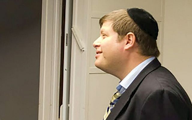 Rabbi Steven (Shmuel) Krawatsky, formerly of the Beth Tfiloh Dahan Community School in Baltimore (via The New York Jewish Week)