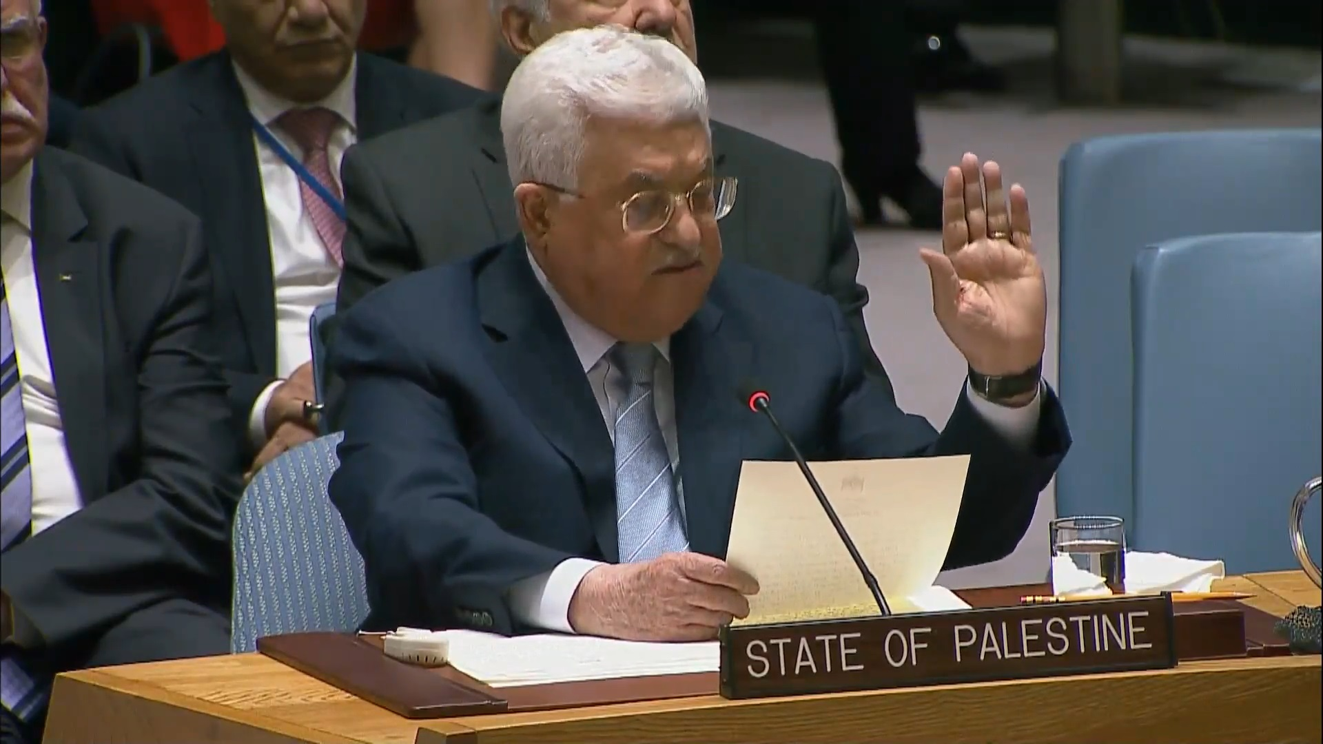 Mr. Prime Minister, it's the PA that declared war on Western values