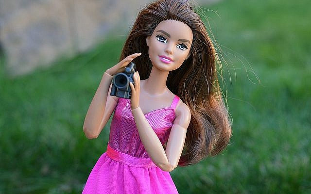 Contemporary Barbie. (Melody Barron, via the National Library of Israel)