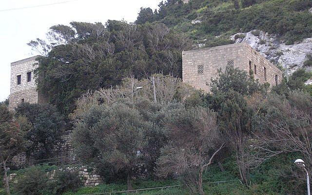 Elijah's cave on Mount Carmel, March 2017. (Deror Avi/Wikipedia)