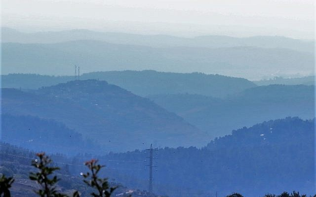 Illustrative. Judean Hills.